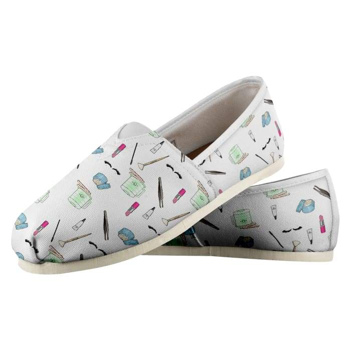 Esthetician Print Shoes - Womens / Us4.5 - Shoes