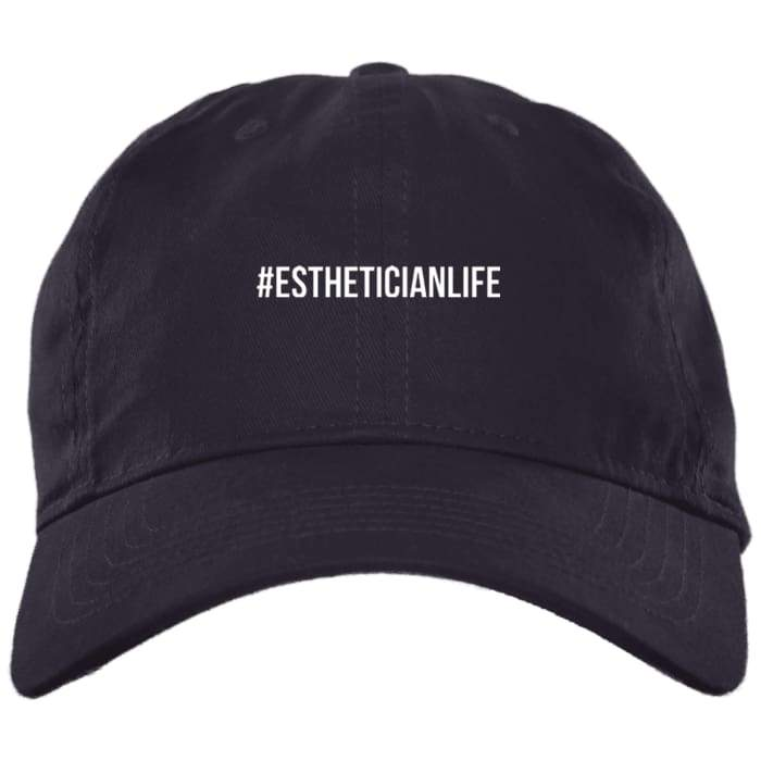 #estheticianlife Dad Hat - Navy / One Size - Hats