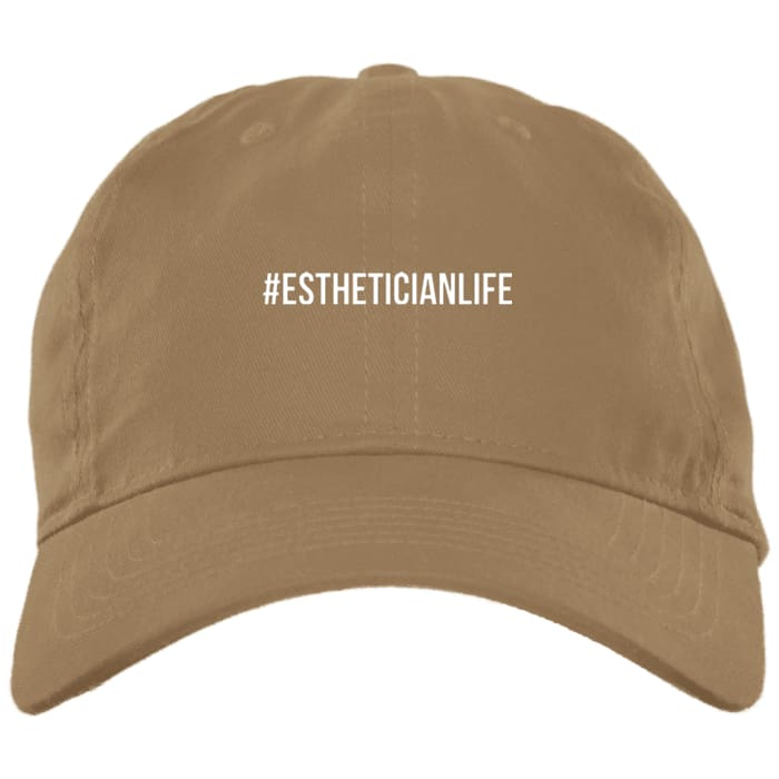 #estheticianlife Dad Hat - Khaki / One Size - Hats