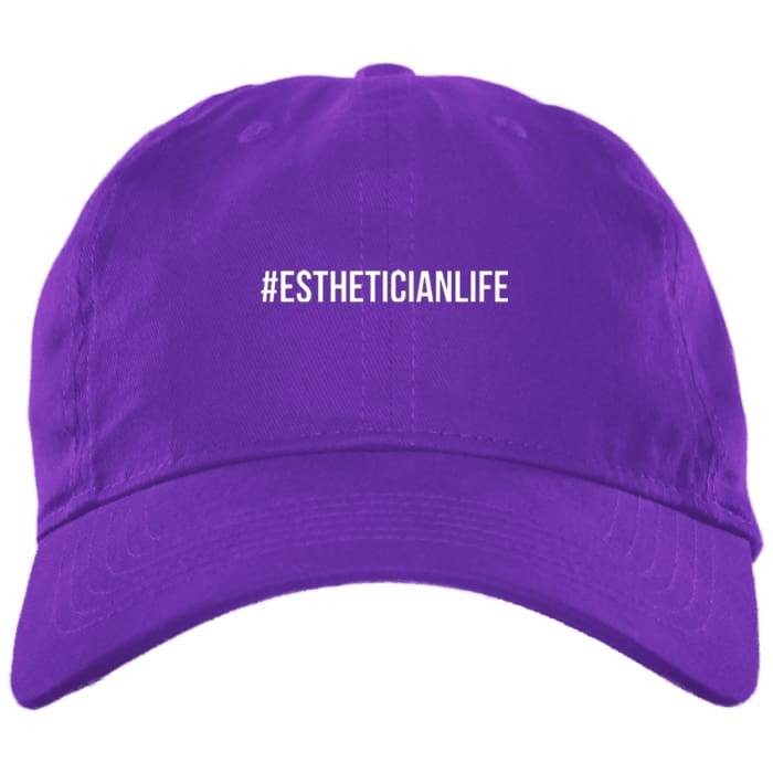 #estheticianlife Dad Hat - Purple / One Size - Hats