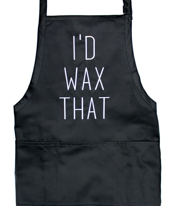 Id Wax That Apron - Work Apparel