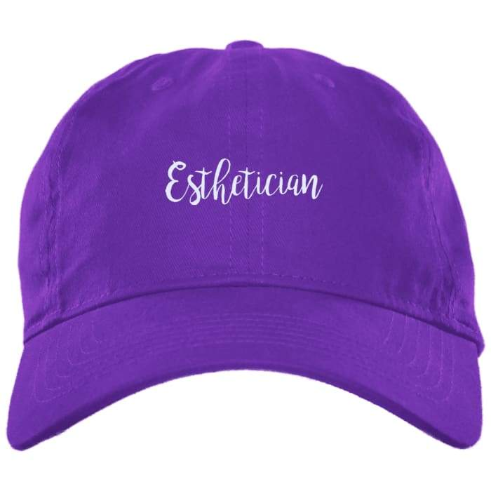 Just Esthetician Dad Hat - Purple / One Size - Hats