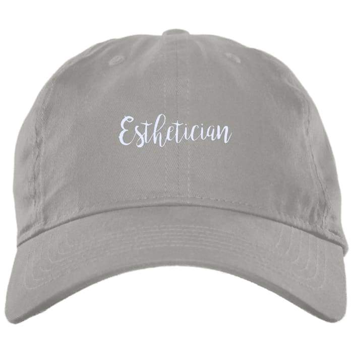 Just Esthetician Dad Hat - Light Grey / One Size - Hats