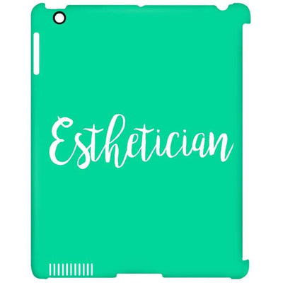 Just Esthetician Ipad Cases - Ipad Clip Case / Aqua / One Size - Apparel