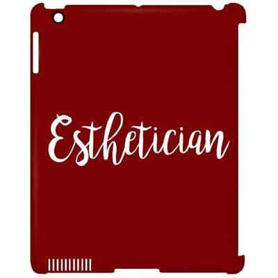 Just Esthetician Ipad Cases - Ipad Clip Case / Red / One Size - Apparel
