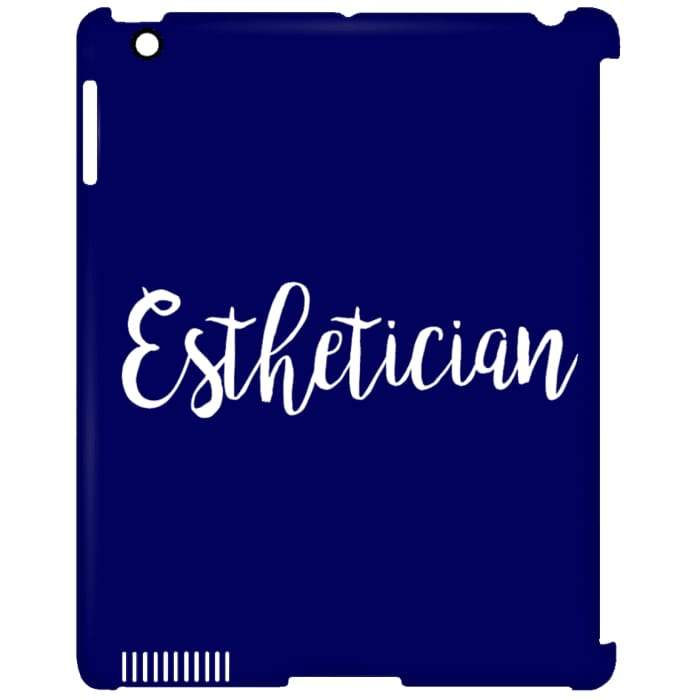 Just Esthetician Ipad Cases - Ipad Clip Case / Navy / One Size - Apparel