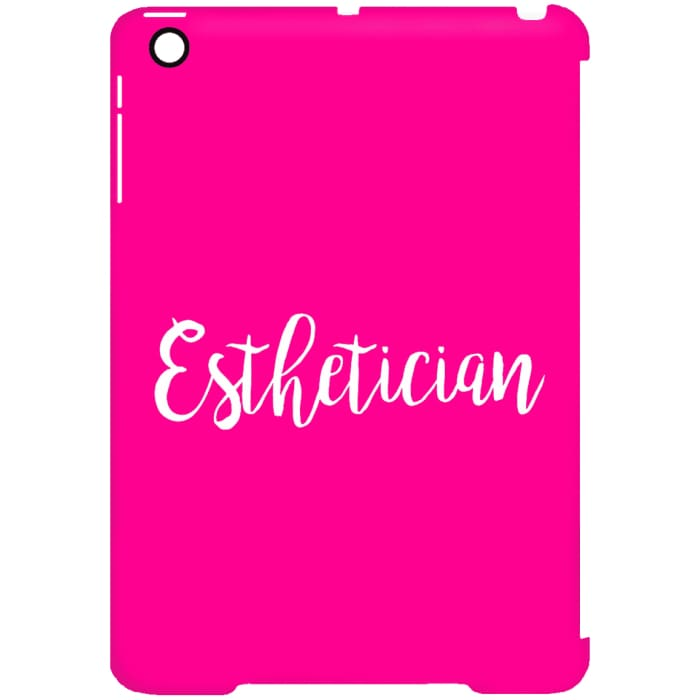 Just Esthetician Ipad Cases - Ipad Mini Clip Case / Pink / One Size - Apparel