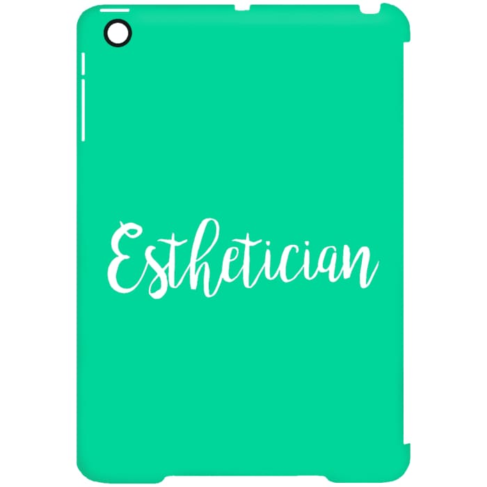 Just Esthetician Ipad Cases - Ipad Mini Clip Case / Aqua / One Size - Apparel