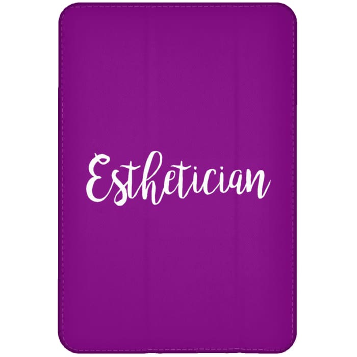 Just Esthetician Ipad Cases - Ipad Mini Flip Case / Purple / One Size - Apparel