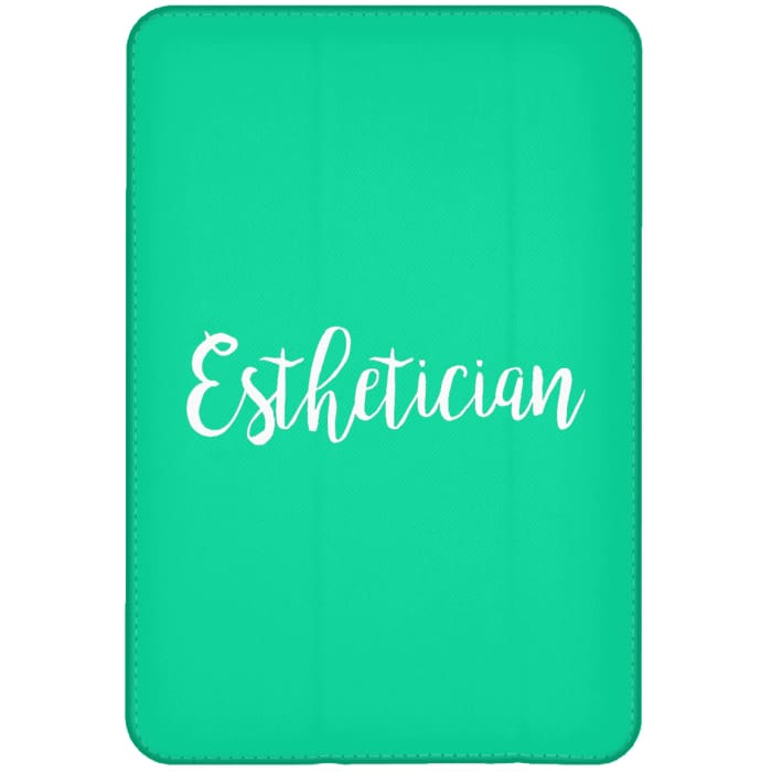 Just Esthetician Ipad Cases - Ipad Mini Flip Case / Aqua / One Size - Apparel