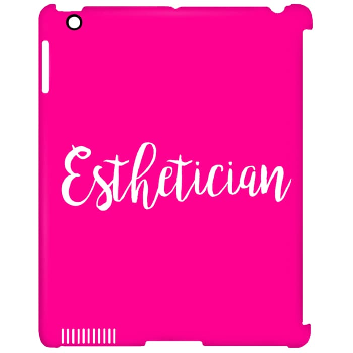 Just Esthetician Ipad Cases - Ipad Clip Case / Pink / One Size - Apparel