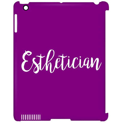 Just Esthetician Ipad Cases - Ipad Clip Case / Purple / One Size - Apparel