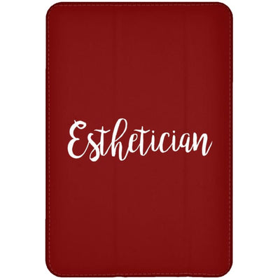 Just Esthetician Ipad Cases - Ipad Mini Flip Case / Red / One Size - Apparel