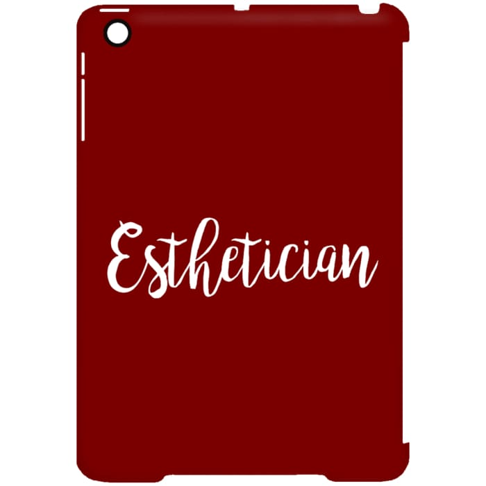 Just Esthetician Ipad Cases - Ipad Mini Clip Case / Red / One Size - Apparel