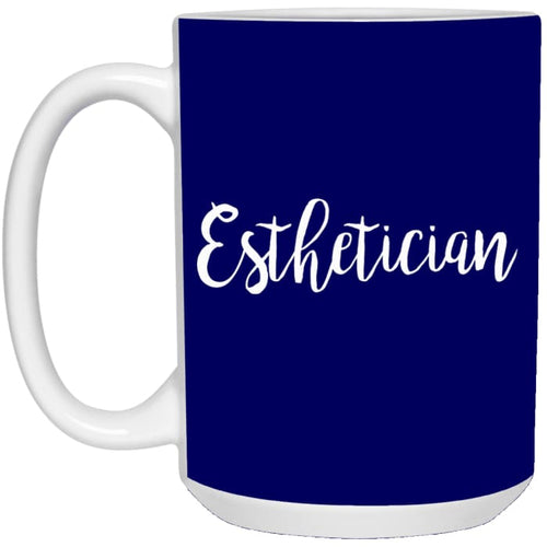 Just Esthetician Mugs - Mug - 15Oz / Navy / One Size - Apparel