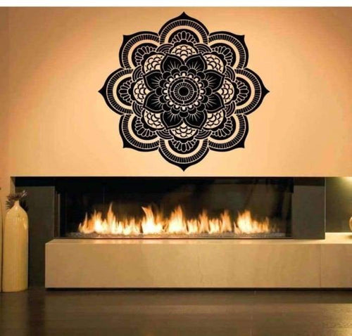 Mandala Wall Decal - Spa Room - Spa Decor