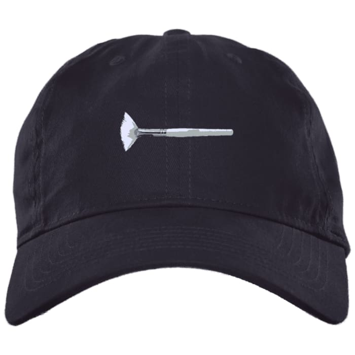 Mask Brush Dad Hat - Navy / One Size - Hats