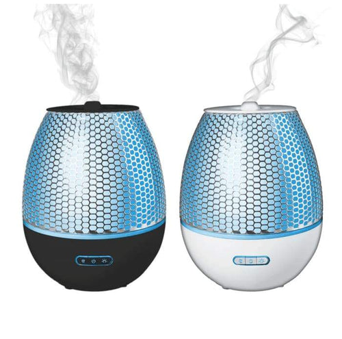 Modern & Silent Ultrasonic Aromatherapy Diffuser. W/ Led Changing Lights.