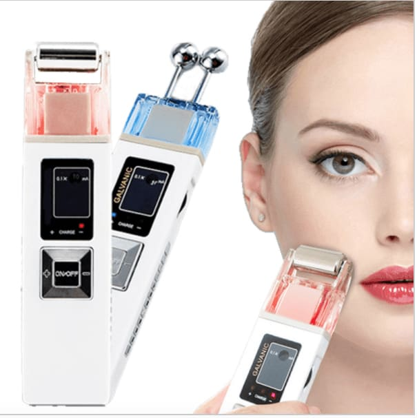 Portable Handheld Galvanic Machine - Esthetician Equipment