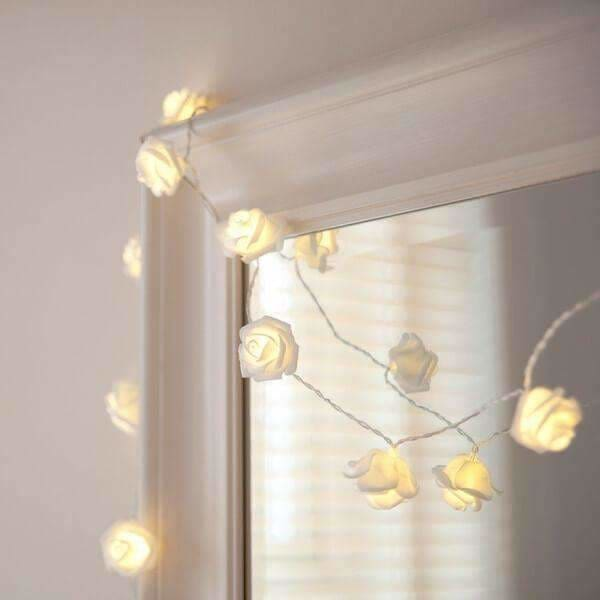 Rose Led String Lights - Spa Decor