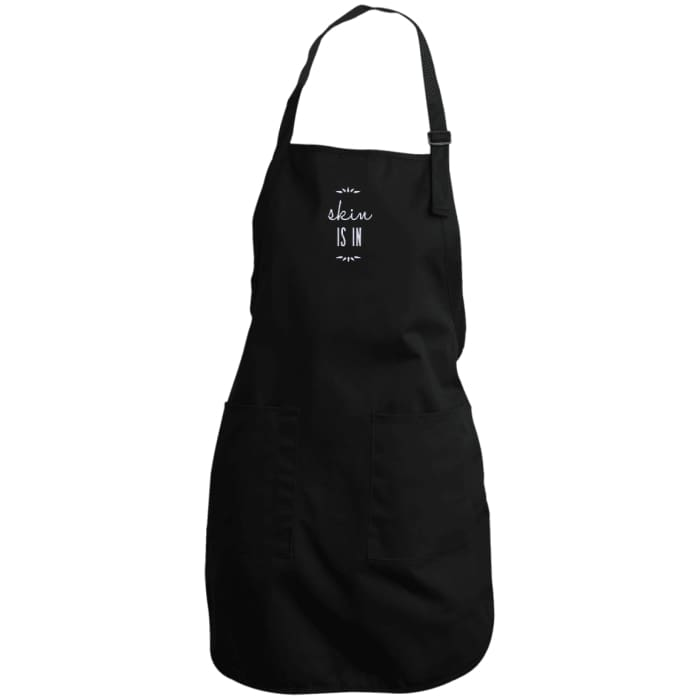 Skin Is In Apron - Black / One Size
