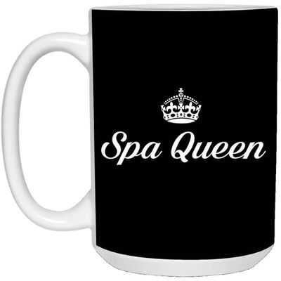 Spa Queen Mugs - Mug - 15Oz / Black / One Size - Apparel