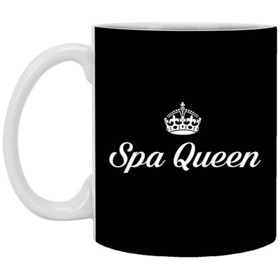 Spa Queen Mugs - 11 Oz. Mug / Black / One Size - Apparel