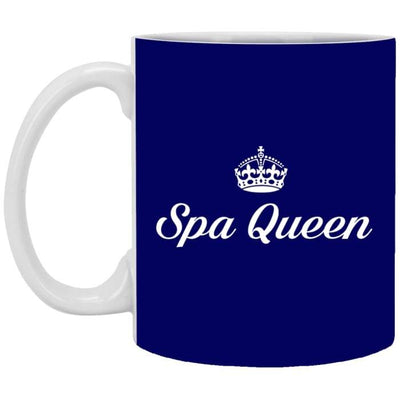 Spa Queen Mugs - 11 Oz. Mug / Navy / One Size - Apparel