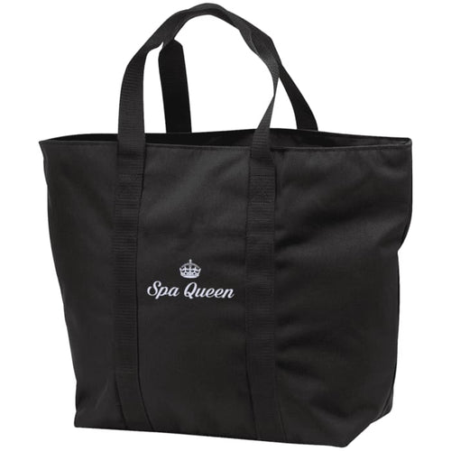 Spa Queen Tote Bag - Black/black / One Size - Bags