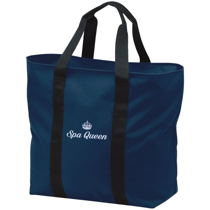 Spa Queen Tote Bag - Navy/black / One Size - Bags