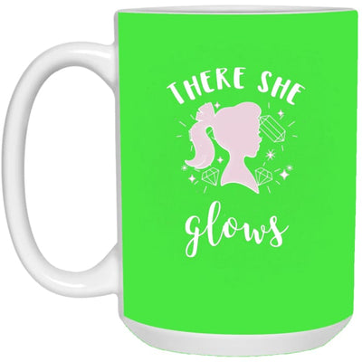 There She Glows Mug - Kelly / One Size - Drinkware