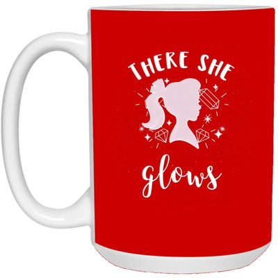 There She Glows Mug - Red / One Size - Drinkware