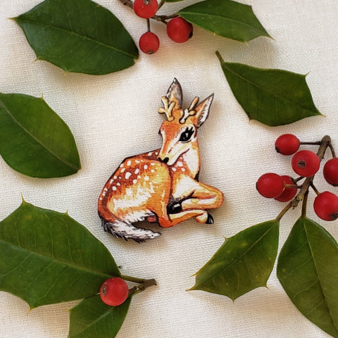 Little Deer Brooch