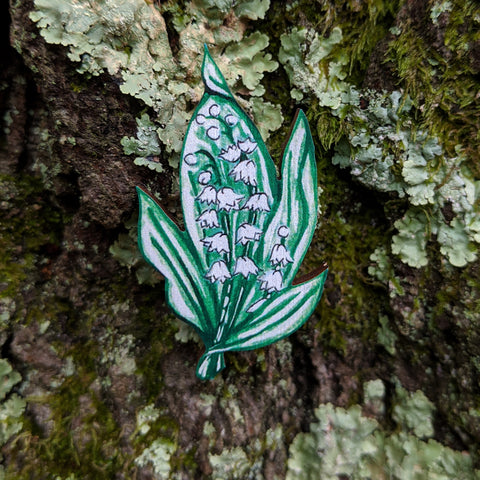 Lily of the Valley Brooch
