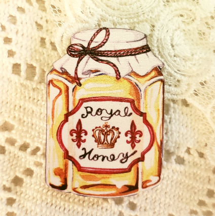 Honey Jar Brooch
