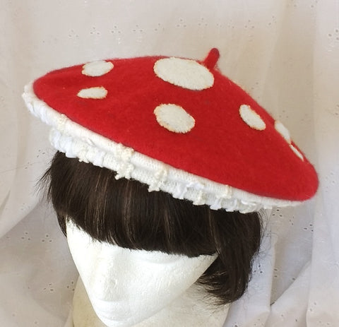 Fly Agaric Beret
