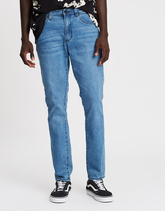 Whatever Jean - Blue Belt Wash - Ziggy Denim