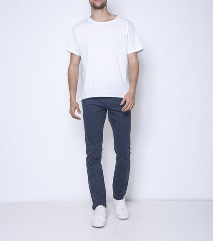 Pins & Needles Chino - Blue Cheese - Ziggy Denim - Mid rise mens denim