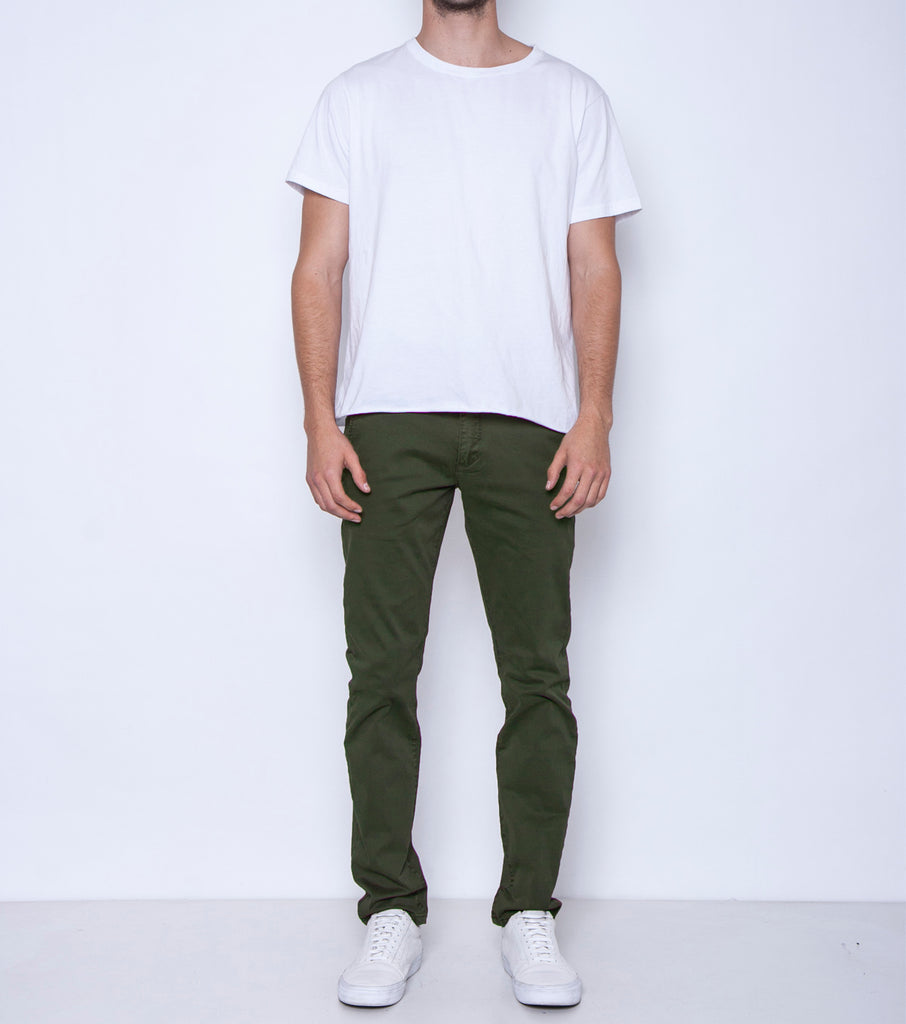 Pins & Needles Chino - Dark Olive - Ziggy Denim