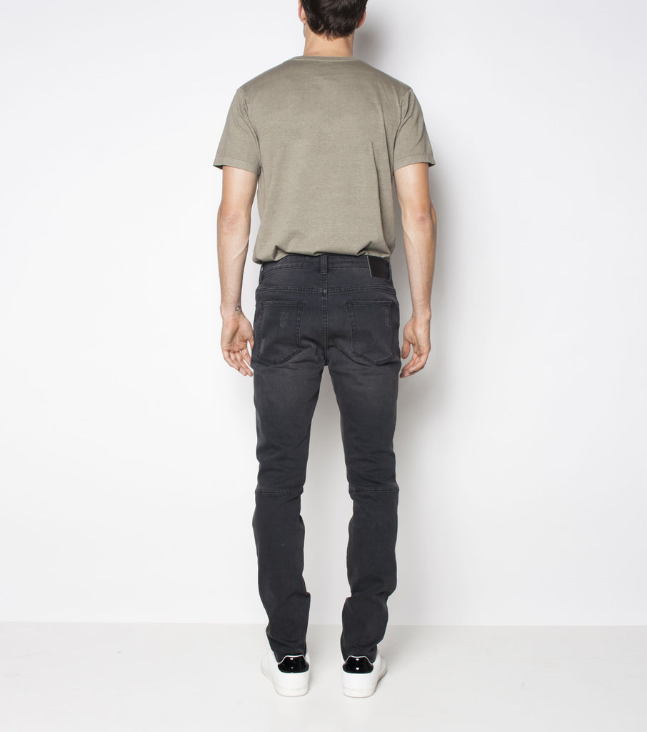 Premium Pipes Skinny - Combat Black - Ziggy Denim