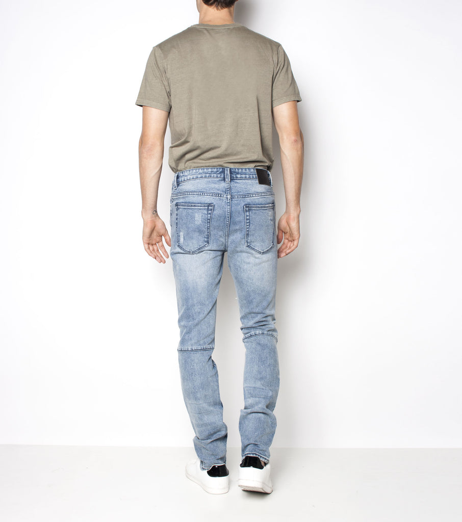 Premium Pipes Skinny - Combat Blue - Ziggy Denim