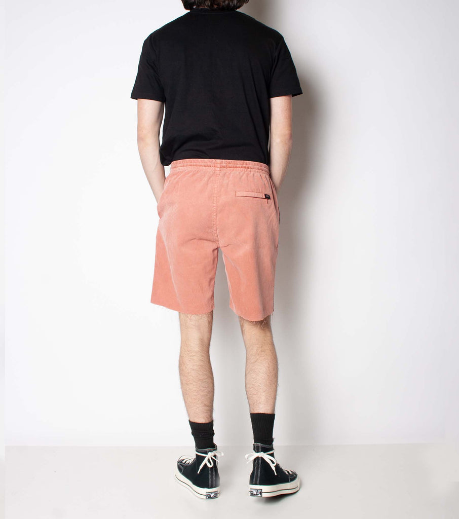 Jetty Cord Short - Vintage Coral