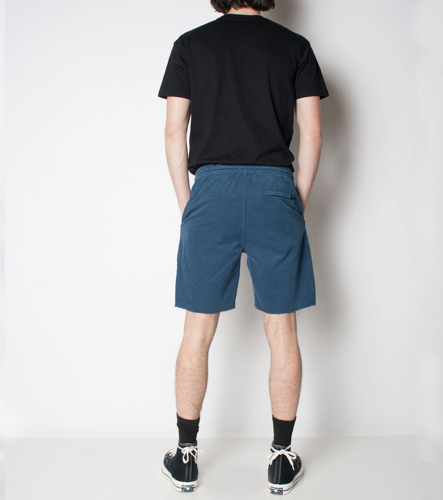 Jetty Cord Short - Vintage Blue