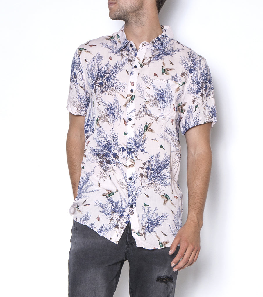 Zee Party shirt- Pink Pheasant