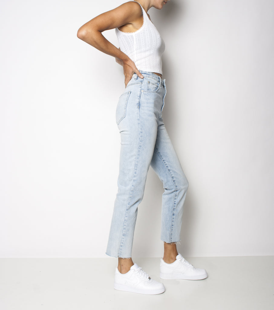 Hi Mum Kick Jean Stretch - Clear Waters - Ziggy Denim