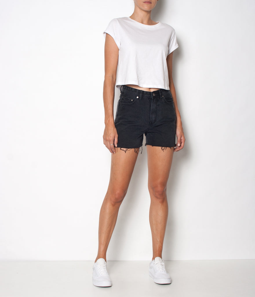 Hi Tide Short - Oxdised Black - Ziggy Denim