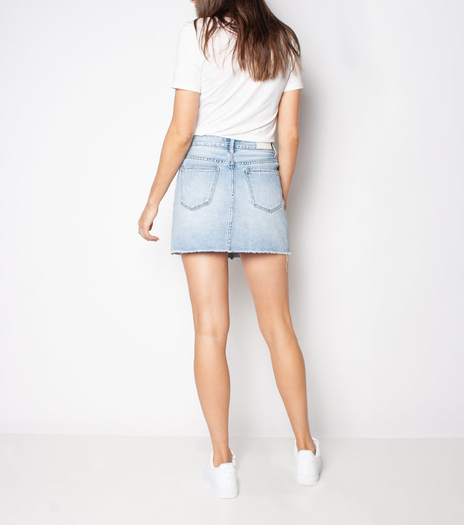 Kick Skirt - Sun Bleached Blue - Ziggy Denim