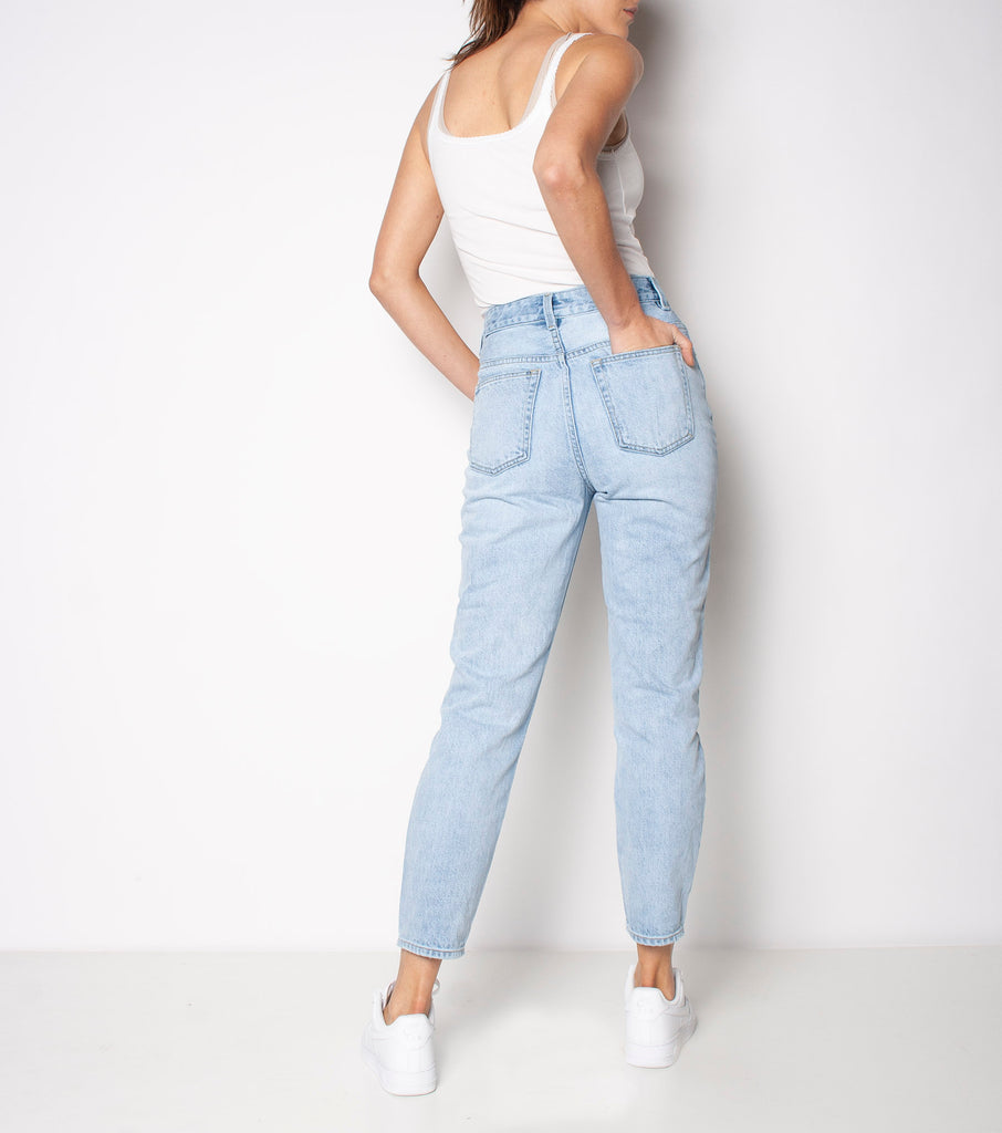 Meet My Mum Jean - First Base - Ziggy Denim mum jean denim simple wardrobe staple ziggy denim
