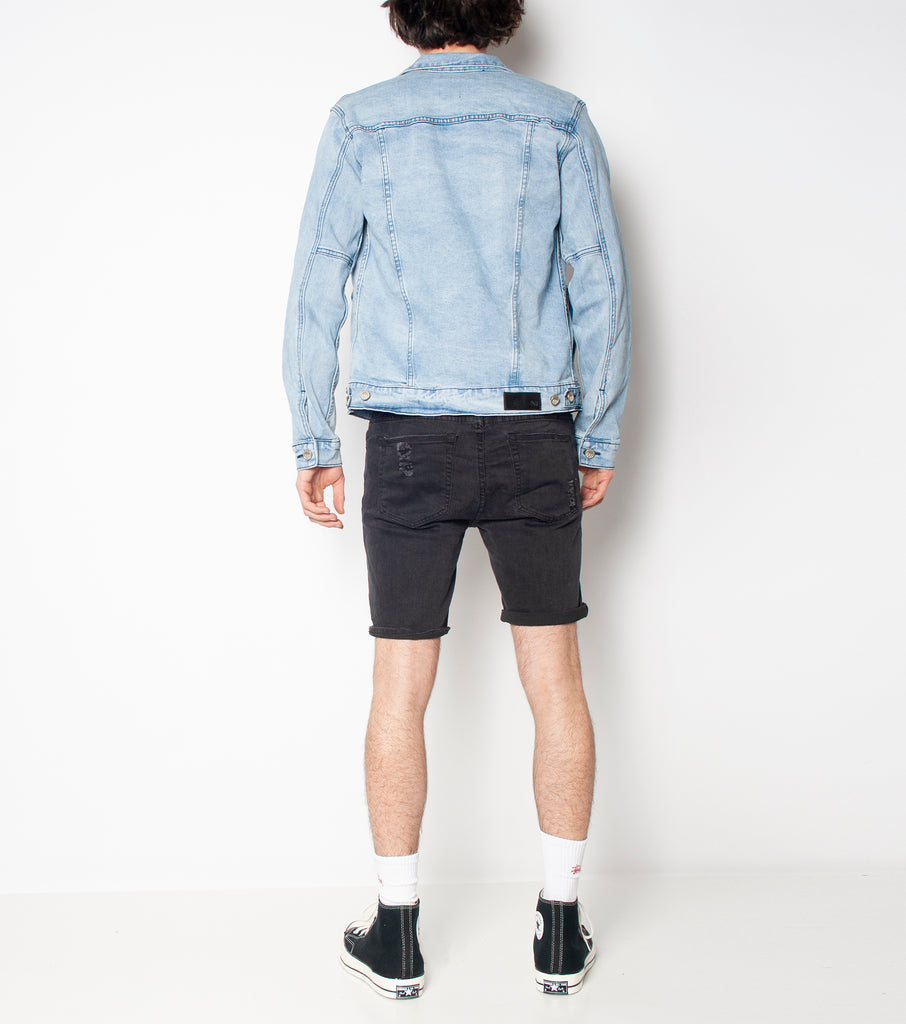 Lorry Jacket - Stone Water - Ziggy Denim denim jacket mens womens oversized fitted wardrobe staple piece ziggy denim