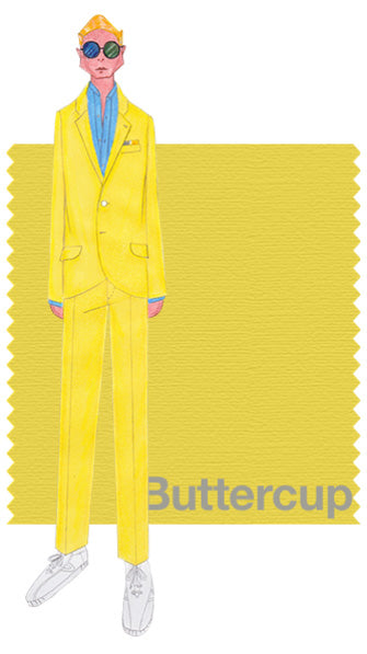 PANTONE Buttercup. Design by David Hart.